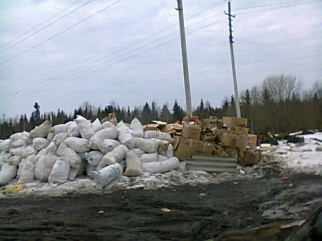 Глаз народа: «В Ижемском районе стихийная свалка выросла до размеров полигона»